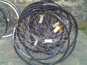 Refurbished bike bicycle wheels, 700 rear disc brake 8/9/10speed Maribyrnong Maribyrnong Area Preview