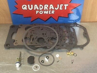 Quadrajet Rebuild Kit.1978-1988 Chevy, Buick, Cadillac, GMC, Chrysler, (Quadrajet Rebuild)