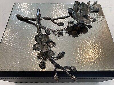 Michael Aram 'Black Orchid' Jewelry Box Large ~ Beautiful