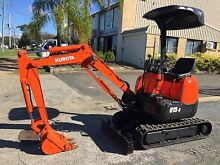 KUBOTA U15-3 MINI EXCAVATOR Arundel Gold Coast City Preview