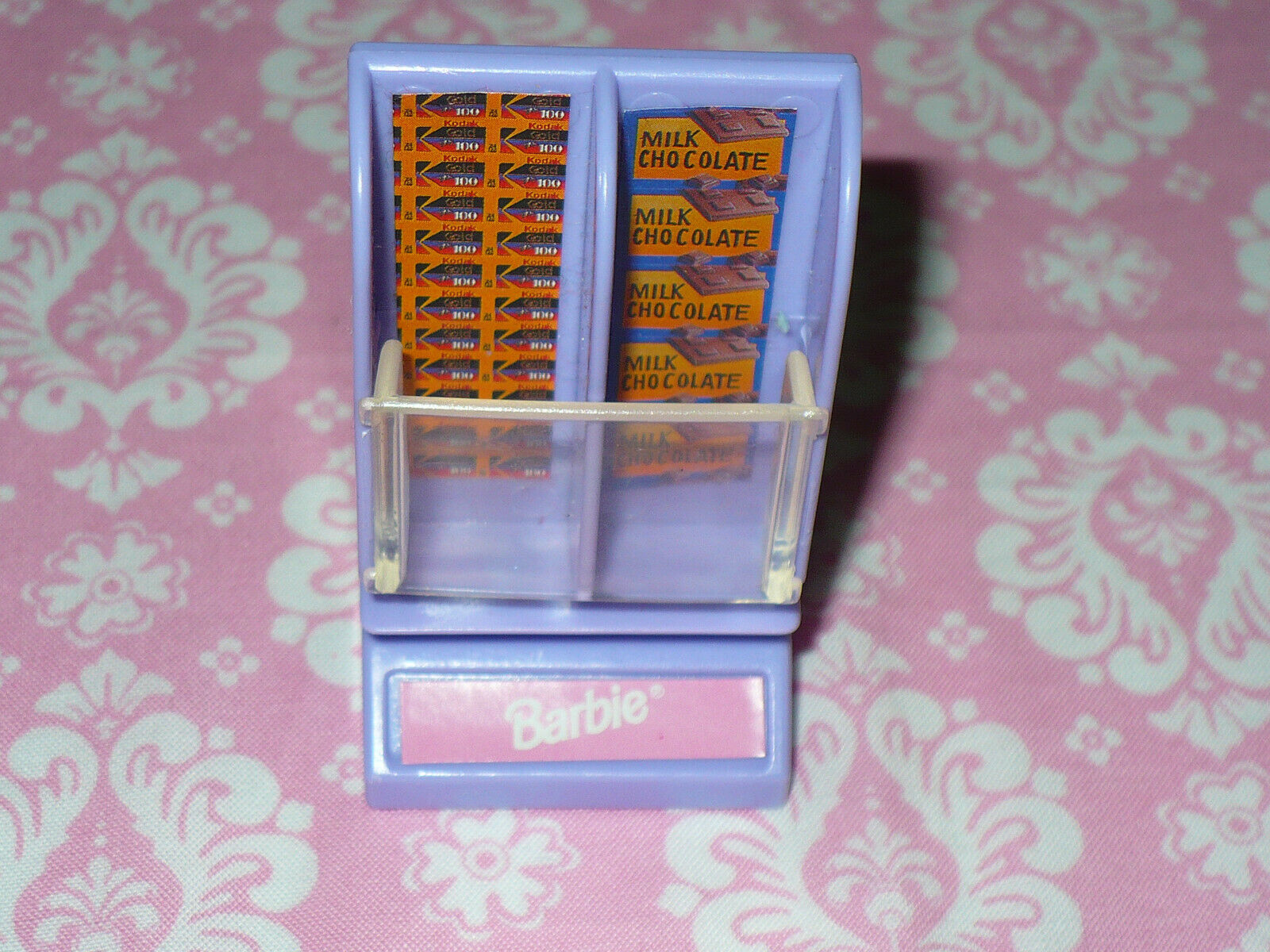 Mattel Barbie Doll SO MUCH TO DO GRCERY STORE Replacement Part Candy Film Rack - $10.39