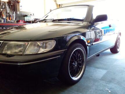 1996 Saab Convertible Auto