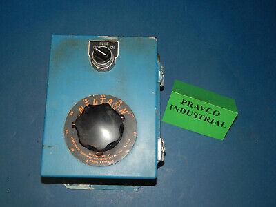 Vibromatic Co. Vt-05 Neutron Drive Controller In Hoffman Enclosure Vt05