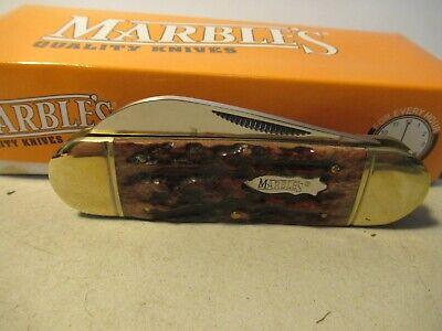 Marbles Folding Pocket Knife Sunfish 2 Blades MR113 Camping Free USA Shipping