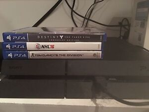 PS4, Destiny, NHL '16, The Division, 2 Controllers, Headset