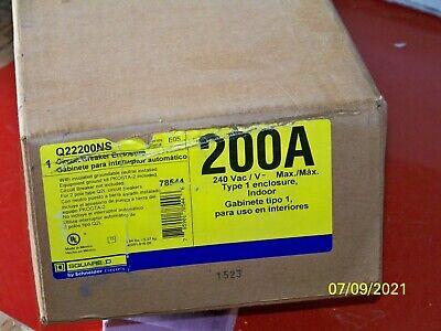 Q22200ns Square D 200 Amp 240 Volt Nema 1 Enclosure Only For Single Phase