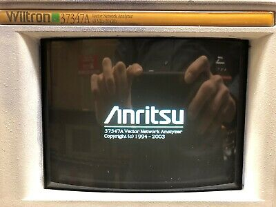 Wiltron-anritsu 37347a Vector Network Analyzer 40 Mhz To 20 Ghz