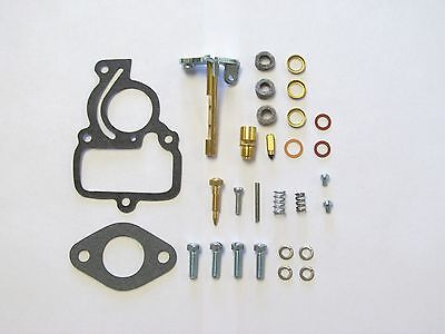 Ih Farmall Cub Complete Tractor Carburetor Repair Kit W Throttle Shaft