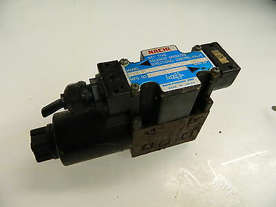 Nachi Wet Type Solenoid Operated Valve, SL-G01-A3X-R-D2-30, 24VDC USED, WARRANTY