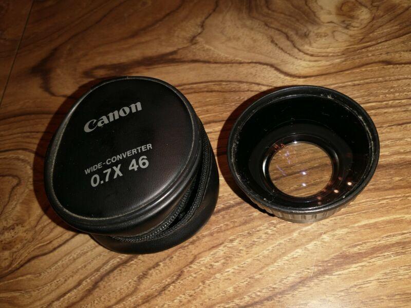 Canon Wide-Converter 0.7X 46
