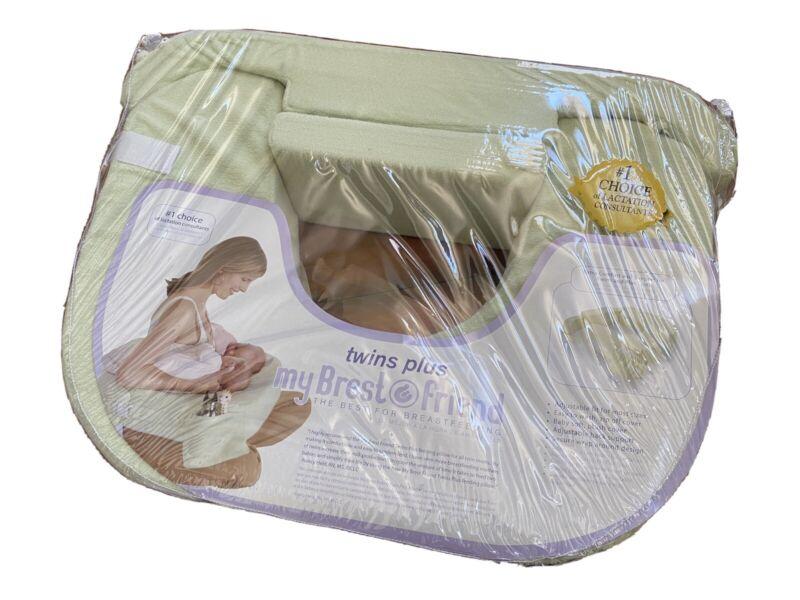 My Brest Friend PLUS Size Green Nursing Breast Feeding Pillow for Twins