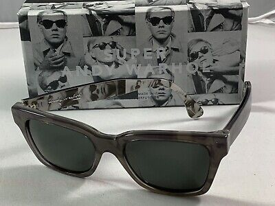 Retrosuperfuture Andy Warhol Limited Ed. XH5 Size 51 New In Box (Andy Warhol Sunglasses)