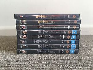 Harry Potter DVD collection Hawthorn East Boroondara Area Preview