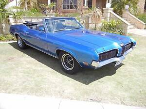 1970 Mercury Cougar XR 7 351 Cleveland 4V Auto Convertible RHD Currambine Joondalup Area Preview