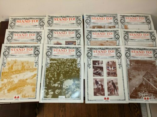 Lot 12 - Stand To! Journal of Western Front Association WWI Magazine 1998-2002