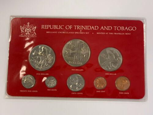 1976 Republic of Trinidad and Tobago Brilliant Uncirculated Specimen Set