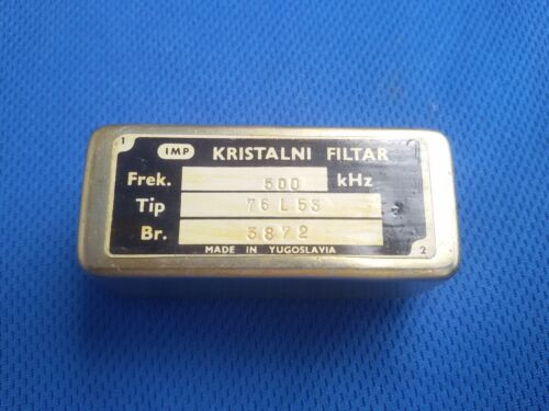 5KHZ AM  CRYSTAL FILTER for 500KHz IF