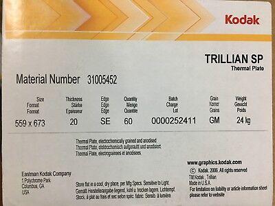 Kodak Trillian Sp Ctp Plates