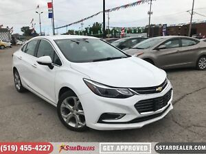 2017 Chevrolet Cruze Premier | LEATHER | CAM | ONE OWNER