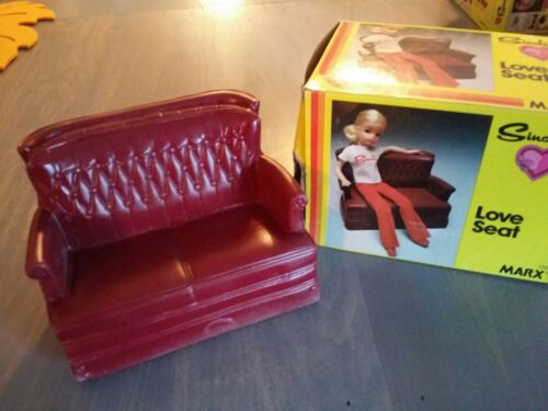 Vintage 1978 Sindy Doll Love Seat Couch Sofa