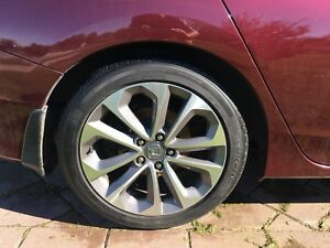 "Honda Accord 18"" Honda wheels and Michelin tires"