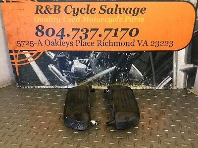 1996 96 BMW R850R R850 R 850 Engine Left Right Oil Cooler Coolers