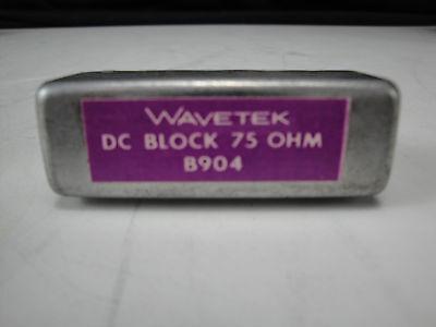 Wavetek B904 75 Ohm Dc Block