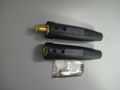 Welding Cable Connector Set 10-20 Male Female Lc40