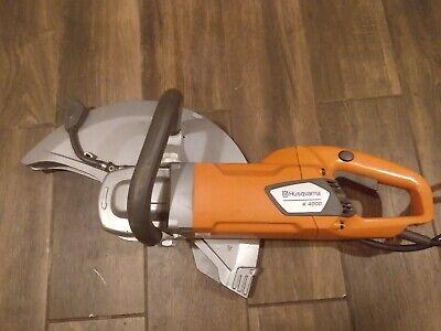 Husqvarna K4000 Concrete Quick Cut Saw Free Shipping