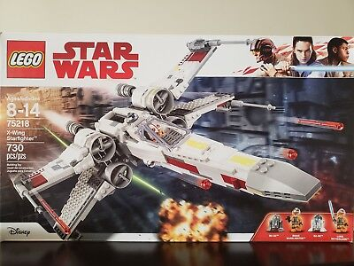 New Lego Set Star Wars X Wing Fighter Factory Sealed NISB Disney FREE SHIPPING