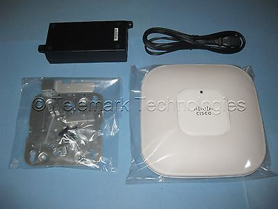 Cisco Aironet 1140 Wireless Access Point AIR-LAP1142N-A-K9 Autonomous with PoE