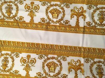 VERSACE DUVET COVER bedding BED COVER MEDUSA Original Italy NEW in bag king size