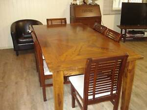 6 dining room chairs Boondall Brisbane North East Preview