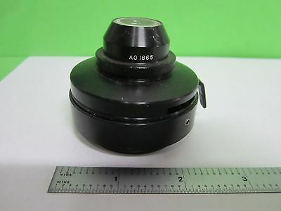 Microscope American Optics Ao 1865 Lwd Substage Condenser As Is Bint1-47