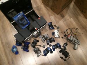 PS2 controllers for sale and console
