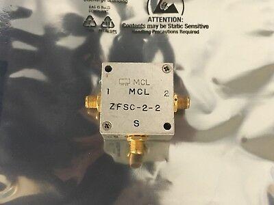 Mcl Zfsc-2-2 10-1000 Mhz 2-way Power Splitter Sma