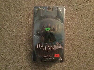 DC DIRECT BATMAN ARKHAM CITY THE MAD HATTER FIGURE