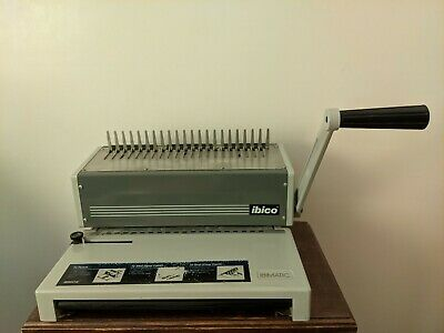 Ibico Ibimatic Heavy Duty Metal Preset Punch Bind System Comb Binding Machine