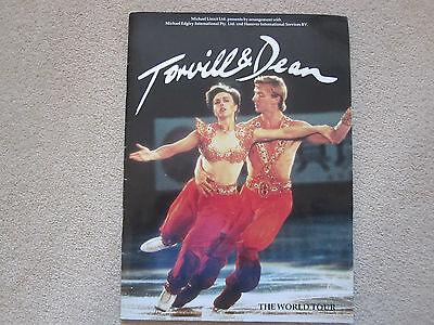 TORVILL & DEAN World Tour 1985 programme - excellent condition
