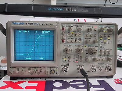 Tektronix 2465b 400mhz 4ch Portable Analog Oscilloscope Refurbedcalibrd Bin