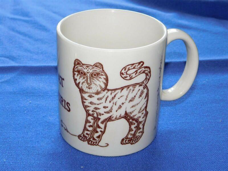 Taylor and NG Le Chat Et Souris Cat Motif Collectible Mug