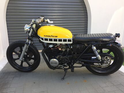 Cafe racer motorcycles gumtree australia free local classifieds yamaha xs250 cafe racerbrat 1980 model swap for 250300650cc fandeluxe Gallery