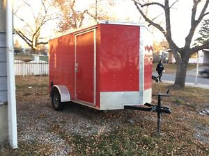 2017 Continental Cargo V-Series 6x10 Enclosed Trailer