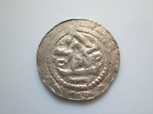 Germany 11 century silver coinMagdeburg Bishopry ±1050 Anonymous Gittelde Denar