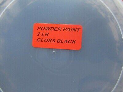 32 Oz Gloss Black Powder Coat Paint 2 Lb Usa Made Free Shipping Best Bulk Price