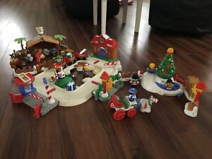 Three Fisher Price Little People Christmas/Nativity Sets