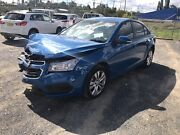 2015 Holden Cruze CD Auto Sedan Stat write off low kms parts only  Orange Orange Area Preview