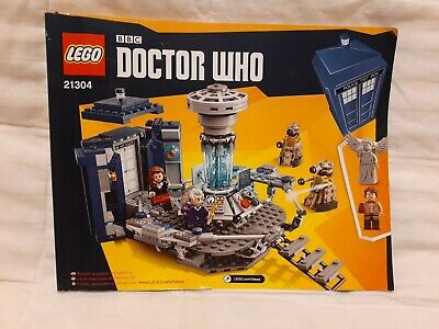 LEGO IDEAS BBC Doctor Who Tardis, INSTRUCTION BOOK ONLY #21304