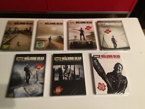 80$ The Walking Dead Dvd. Seasons 1-7. Francais Anglais.Scellé.