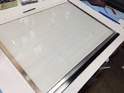 For Reichert Jung Cryocut 1800 Cryostat Replacement Heated Glass Window